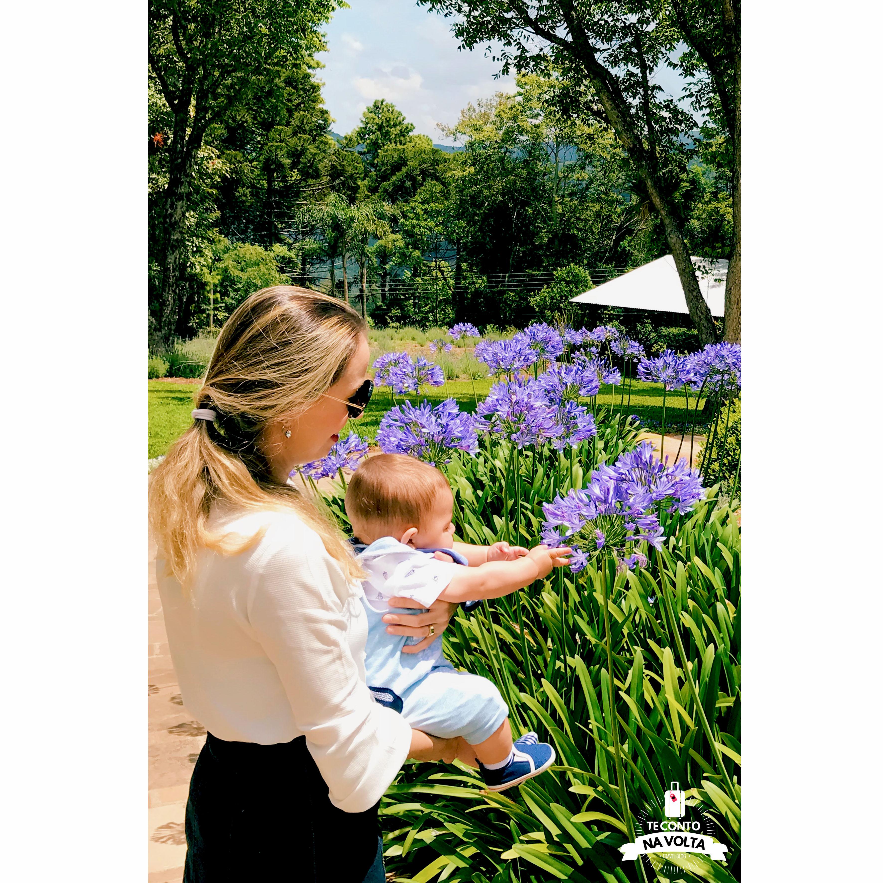 Le Jardin com bebê